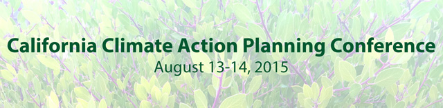 2015 California Climate Action Planning Conference