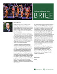 College of Liberal Arts Brief, Winter 2014