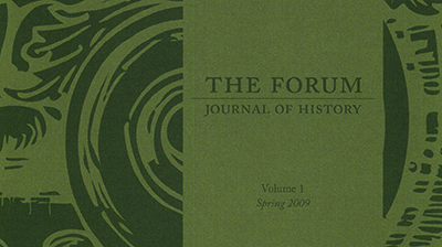 Read Cal Poly's award-winning, student-published History journal, The Forum!