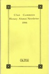 Clio's Comments, 1986 by History Department