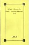 Clio's Comments, 1986