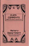 Clio's Comments, 1989-90 by History Department