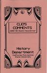 Clio's Comments, 1989-90