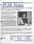 Peak News, 1994-1995 by Physical Education & Kinesiology Department
