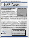 Peak News, 1996-1997 by Physical Education & Kinesiology Department