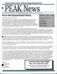 Peak News, 1997-1998 by Physical Education & Kinesiology Department