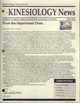 Kinesiology News, 2001-2002 by Kinesiology Department