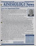Kinesiology News, Summer 2005 by Kinesiology Department