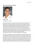 Kinesiology Department Newsletter 2010