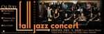 University Jazz Bands Fall Concert flyer