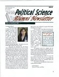 Alumni Newsletter, 2008-2009 by Political Science Department