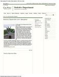 Statistics Department 2011 Newsletter