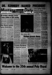 Mustang Daily, April 28, 1967