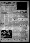 Mustang Daily, October 13, 1967