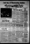 Mustang Daily, October 25, 1967