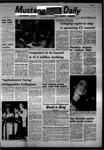 Mustang Daily, November 3, 1967