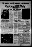 Mustang Daily, November 17, 1967
