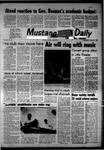 Mustang Daily, March 6, 1968