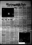 Mustang Daily, May 27, 1968