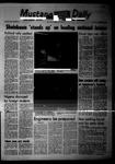 Mustang Daily, October 17, 1968