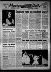 Mustang Daily, October 25, 1968