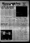 Mustang Daily, November 6, 1968