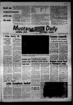 Mustang Daily, November 18, 1968