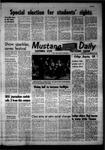 Mustang Daily, November 20, 1968