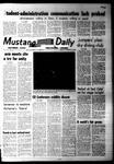 Mustang Daily, November 22, 1968