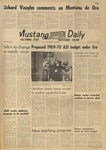 Mustang Daily, April 21, 1969