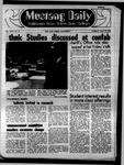 Mustang Daily, May 13, 1969