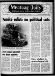 Mustang Daily, October 8, 1969