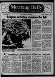 Mustang Daily, October 10, 1969