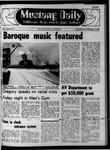 Mustang Daily, October 15, 1969