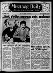 Mustang Daily, October 24, 1969