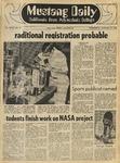 Mustang Daily, January 14, 1970