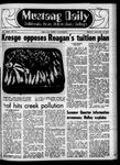 Mustang Daily, January 16, 1970