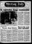 Mustang Daily, February 6, 1970