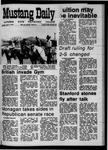 Mustang Daily, April 2, 1970