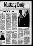 Mustang Daily, April 3, 1970