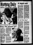 Mustang Daily, April 7, 1970