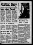 Mustang Daily, April 9, 1970