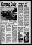 Mustang Daily, April 10, 1970