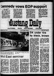 Mustang Daily, April 15, 1970