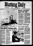 Mustang Daily, April 17, 1970