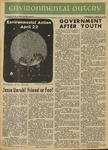 Environmental Outcry, April 22, 1970