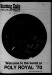 Mustang Daily, April 24, 1970