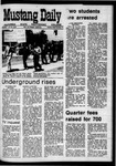 Mustang Daily, April 30, 1970