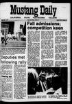 Mustang Daily, May 1, 1970