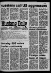 Mustang Daily, May 5, 1970